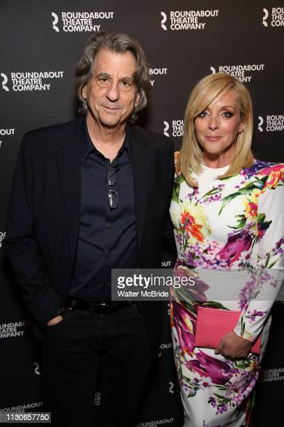 David Rockwell and Jane Krakowski attend the Broadway Opening Night of Kiss Me Kate at Studio 54 on March 14 2019 in New York City
