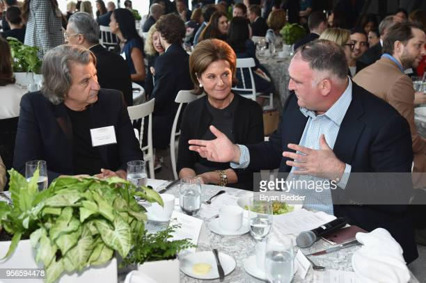 David Rockwell NEST Fragrances CEO and Co-Founder Laura Slatkin, and Chef Jose Andres attend the Fifth Annual Town & Country Philanthropy Summit on...