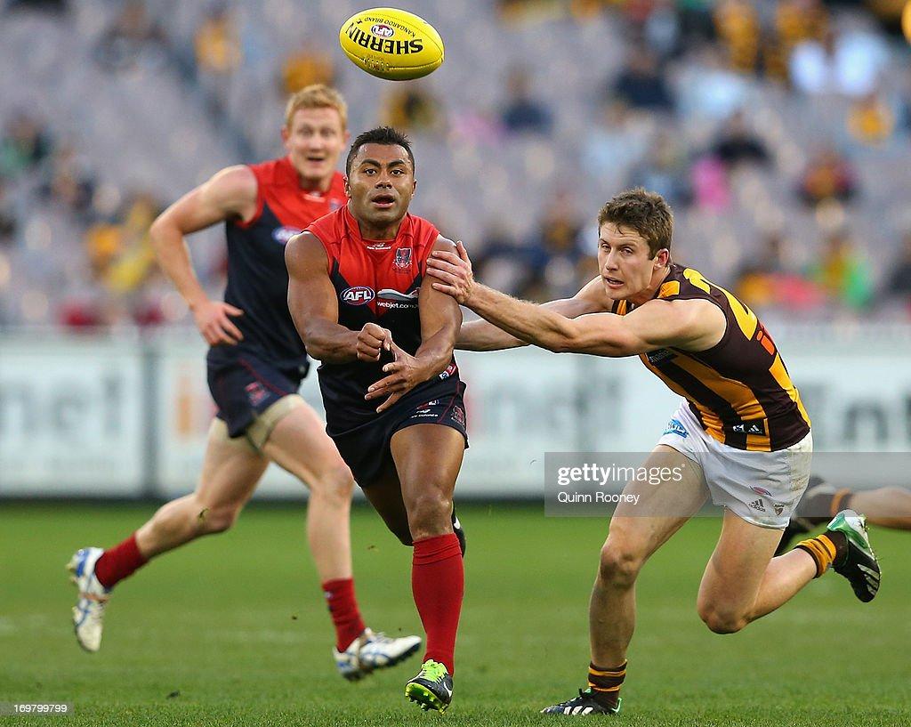 AFL Rd 10 - Melbourne v Hawthorn