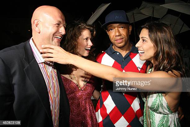 David Rosenberg, Yael, Russell Simmons and Shamin Abas