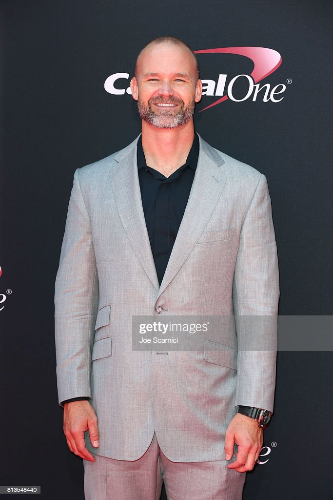David Ross arrives at the 2017 ESPYS at Microsoft Theater on July 12, 2017 in Los Angeles, California.