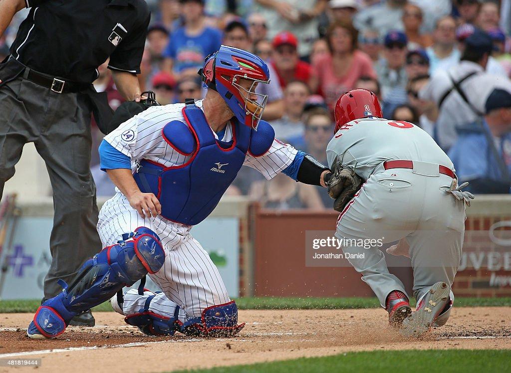 Philadelphia Phillies v Chicago Cubs