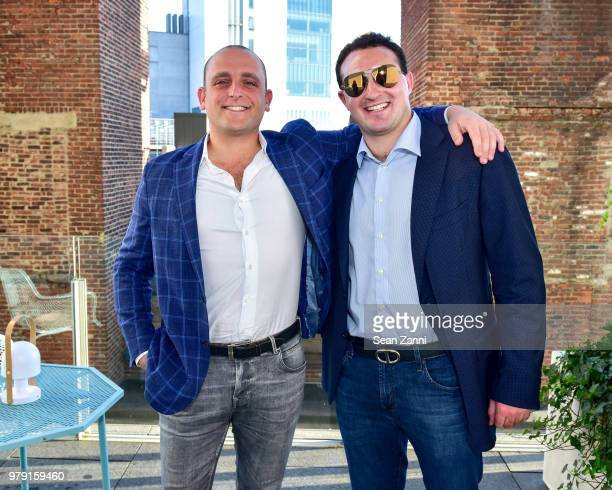 David Rothschild and Tyler Tananbaum attend American Friends Of The Israel Museum Celebrate Summer 2018 at The High Line Room The Standard Hotel on...