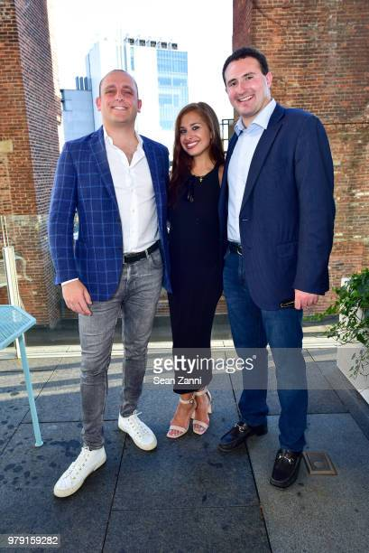 David Rothschild Dara Perlmutter and Tyler Tananbaum attend American Friends Of The Israel Museum Celebrate Summer 2018 at The High Line Room The...