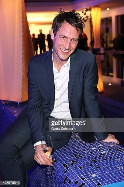David Rott during the ARD advent dinner hosted by the program director of the tv station Erstes Deutsches Fernsehen at Hotel Bayerischer Hof on...