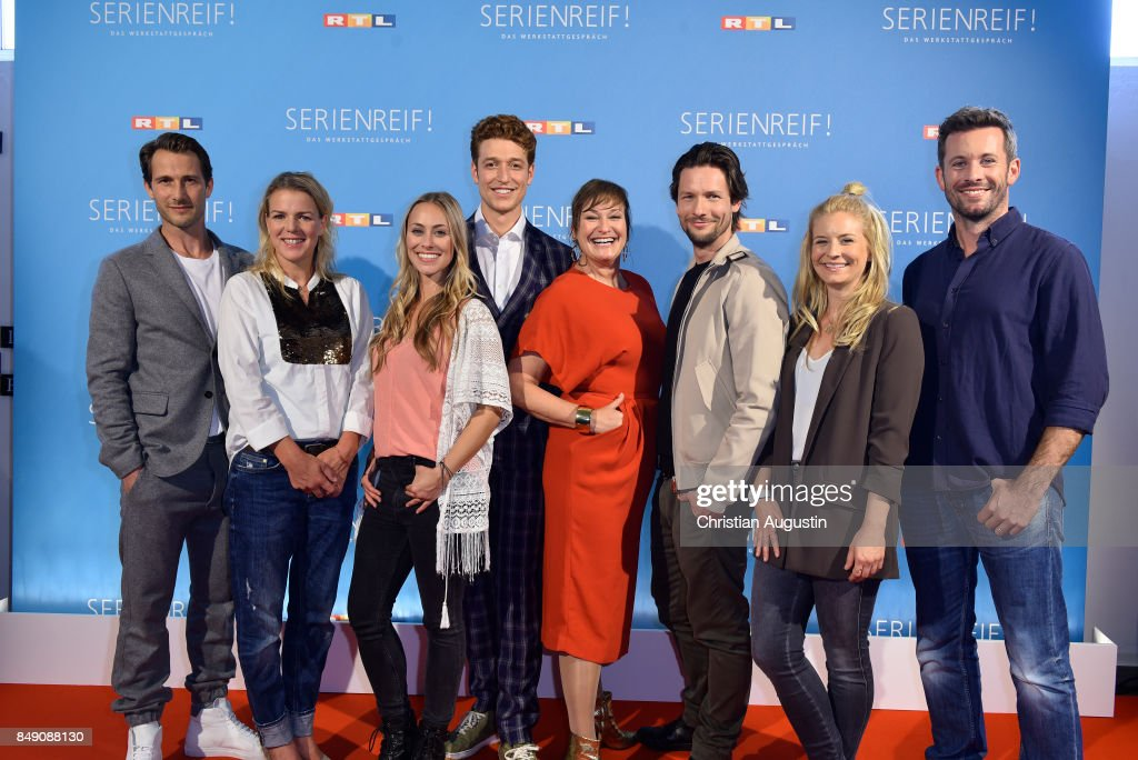 'RTL-Serienreif!' Press Talk in Hamburg