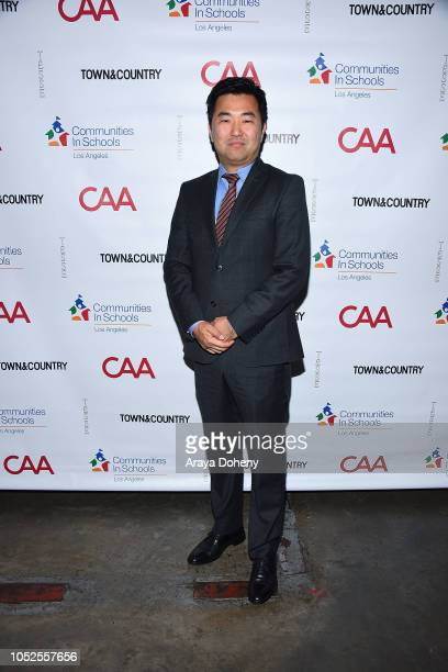 David Ryu attends Communities In Schools LA 'Lunch With a Leader' on October 19 2018 in West Hollywood California