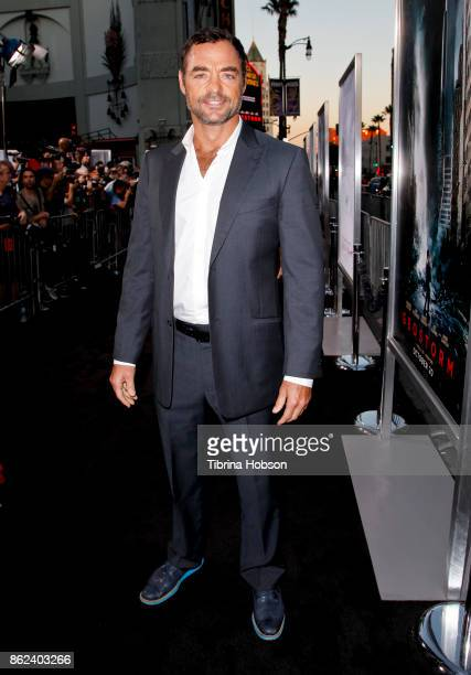 David S Lee attends the premiere of Warner Bros Pictures 'Geostorm' at TCL Chinese Theatre on October 16 2017 in Hollywood California
