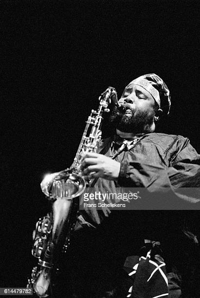 David S Ware, tenor saxophone, performs on January 21st 1996 at the BIM huis in Amsterdam, Netherlands