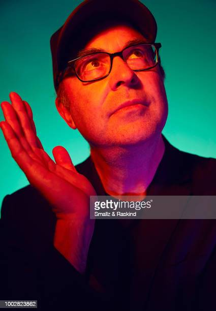 David Sacks from TBS's 'Final Space' poses for a portrait at the Getty Images Portrait Studio powered by Pizza Hut at San Diego 2018 Comic Con at...