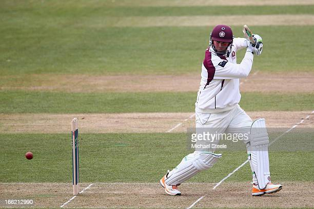 David Sales of Northamptonshire during the LV County Championship Division Two match between Glamorgan and Northamptonshire at the SWALEC Stadium on...