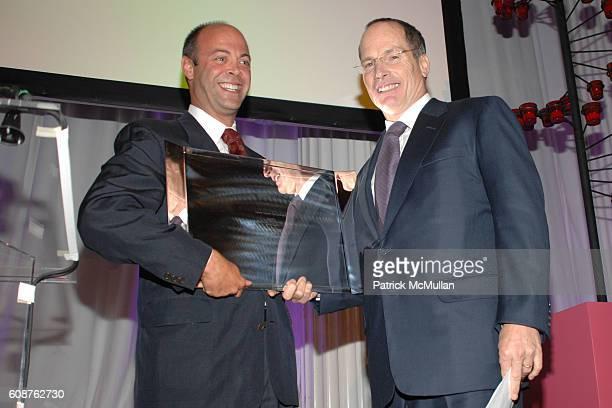 David Saltzman and Glenn Dubin attend Henry Street Settlement 2007 Gala at 583 Park Ave on October 18, 2007 in New York City.