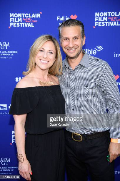 David Samuel and Liz Samuel arrive at Montclair Film Festival 2017 Opening Night on April 28 2017 in Montclair New Jersey
