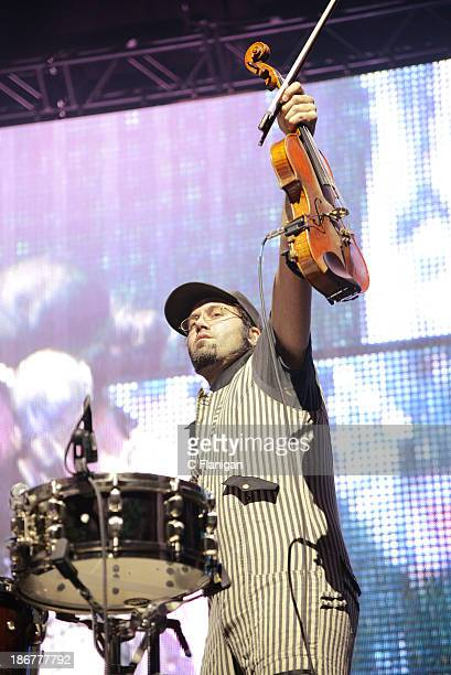 David Satori of Beats Antique performs during the 2013 Voodoo Music + Arts Experience at City Park on November 3, 2013 in New Orleans, Louisiana.