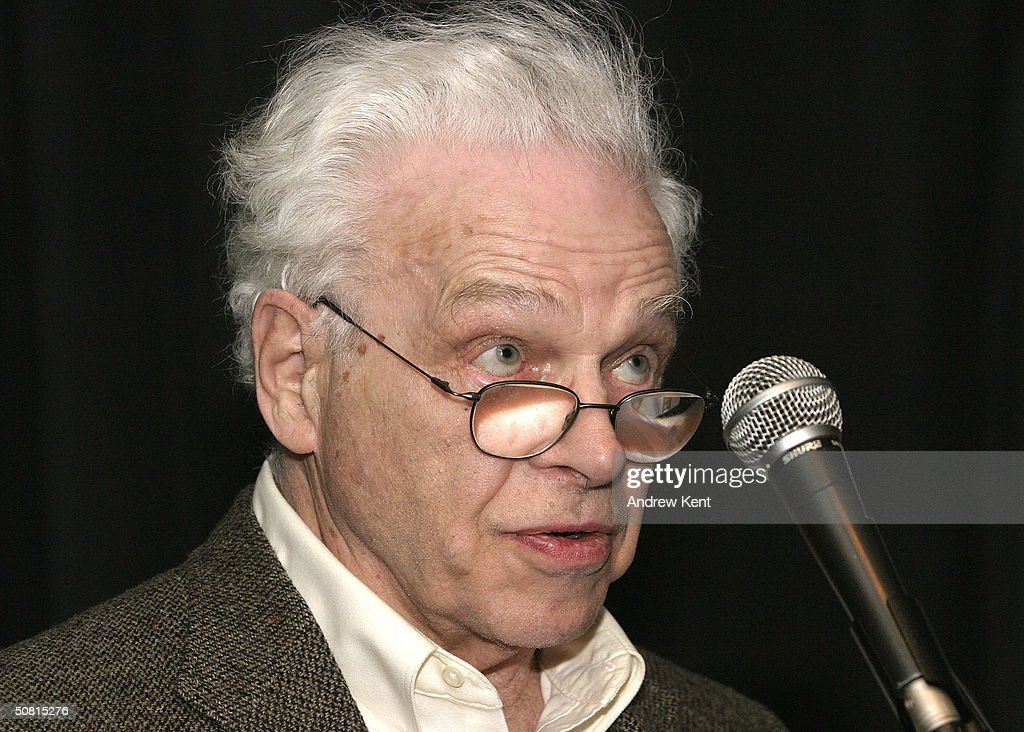 David Sayre speaks at the Unraveling The Code: Rosalind Franklin and DNA panel during the 2004 Tribeca Film Festival May 8, 2004 in New York City.