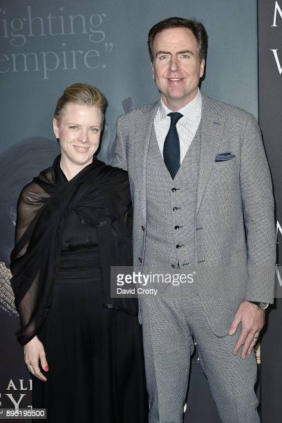 David Scarpa and Guest attend the Premiere Of Sony Pictures Entertainment's 'All The Money In The World' Arrivals at Samuel Goldwyn Theater on...
