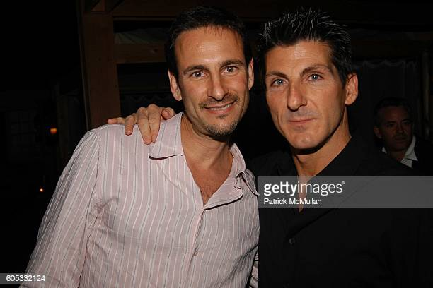 David Schlachet and Bobby Montwaid attend Pink Elephant at Pink Elephant on May 27 2006 in Southampton NY