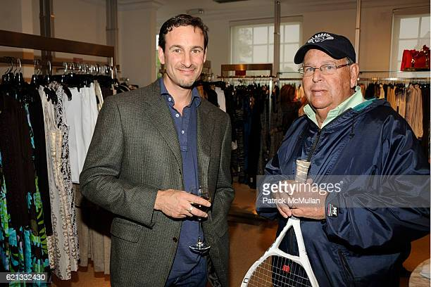 David Schlachet and David Schlang attend Saks Fifth Avenue with Serena Boardman Rosen and Fernanda Niven toast Cristina Greeven Cuomo at Saks Fifth...