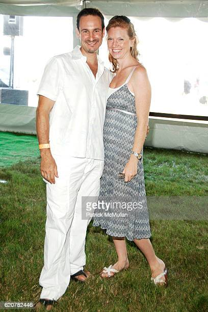 David Schlachet and Lara Schlachet attend DONNA KARAN InStyle Magazine KELLY RIPA host SUPER SATURDAY 11 to Benefit Ovarian Cancer Fund at Nova's Ark...