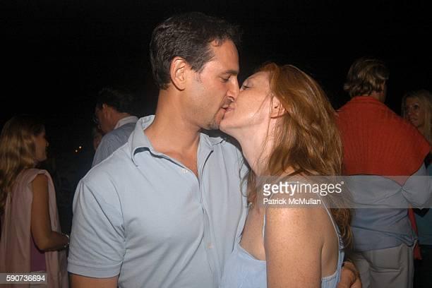 David Schlachet and Lara Schlachet attend Hamptons Film Festival Elle Magazine Host a Beach Dinner Following the Special Viewing of Paramount...