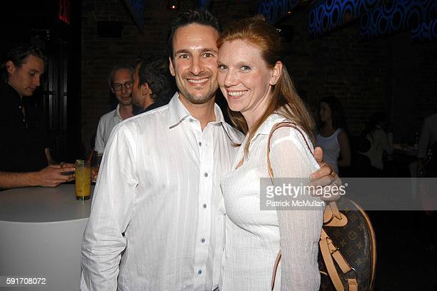 David Schlachet and Lara Schlachet attend Jessica White's 21st Birthday Party Hosted by Jamison Ernest of Yellow Fever at Pizza Bar on June 22 2005...