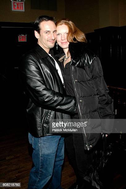 David Schlachet and Lara Schlachet attend MONDAYS HARD and the premiere of MANIKIN MONDAYS at The Plumm on April 16 2007 in New York City