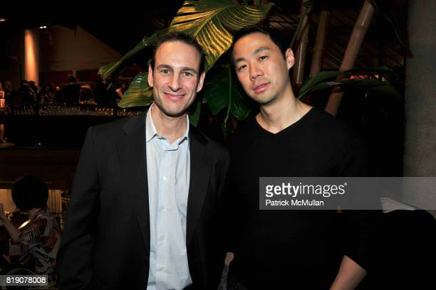 David Schlachet and Shoakoa Cheng attend FIRST BLOOM Art and Photography Auction to Benefit The FRIENDS OF THE HIGH LINE at Equinox on March 18 2010...