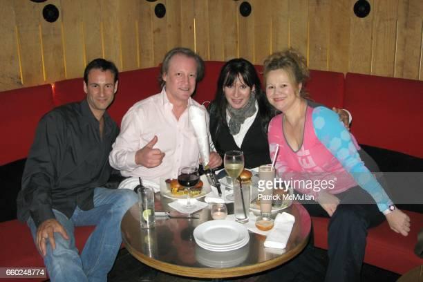 David Schlachet Patrick McMullan Guest and Caroline Rhea attend POP Burger at Pop Burger on June 17 2009 in New York