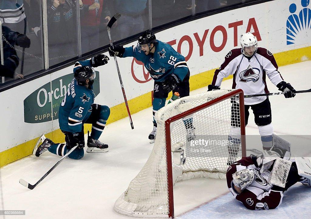 Colorado Avalanche v San Jose Sharks