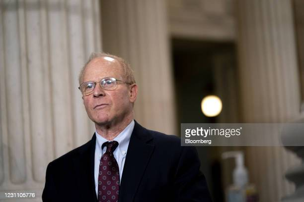 David Schoen, defense attorney for Donald Trump, speaks during a television interview at the Russell Senate Office Building in Washington, D.C.,...