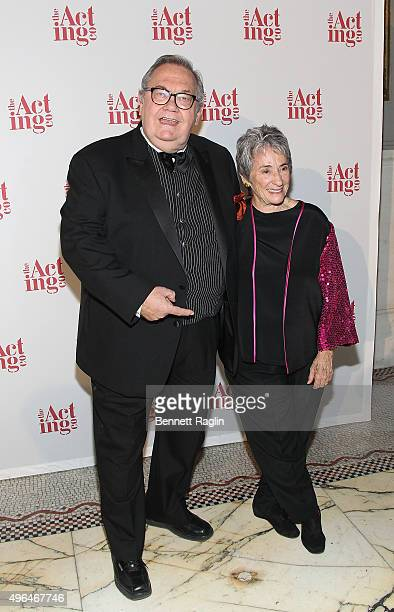David Schramm and Margot Harley attend the 2015 Acting Company Fall Gala at Capitale on November 9 2015 in New York City