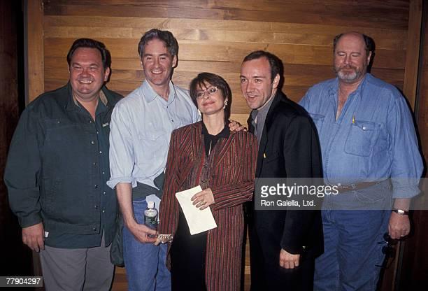 David Schramm Kevin Kline Patti LuPone Kevin Spacey and David Ogden Stiers