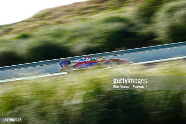 David Schumacher of Germany and Trident drives at Circuito de Jerez on May 12, 2021 in Jerez de la Frontera, Spain.