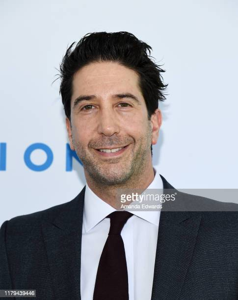 David Schwimmer arrives at The Rape Foundation's 2019 Annual Brunch Benefiting Rape Treatment Center and Stuart House at Santa MonicaUCLA Medical...