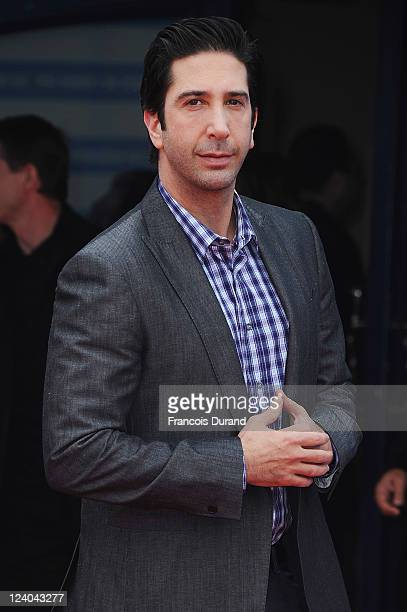 David Schwimmer arrives for the 'Trust' premiere during the 37th Deauville American Film Festival on September 8 2011 in Deauville France