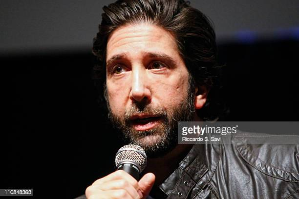 David Schwimmer attends a screening of Trust at American Film Institute on March 24 2011 in Silver Spring Maryland