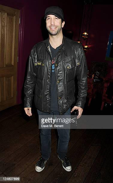 """David Schwimmer attends a special screening of """"Tinker Tailor Soldier Spy"""" presented by the British Film Institute at the Soho Hotel on September 12,..."""