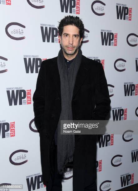 David Schwimmer attends HATEF**K Opening Night at WP Theater on March 13 2019 in New York City