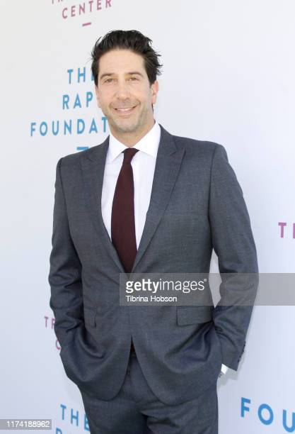 David Schwimmer attends the Rape Foundation Annual Brunch 2019 at a Beverly Hills Private Estate on October 06 2019 in Beverly Hills California