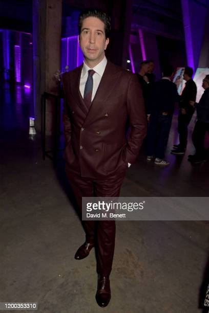 David Schwimmer attends the Sky TV Up Next Event at Tate Modern on February 12 2020 in London England Up Next is Skys inaugural showcase event to...