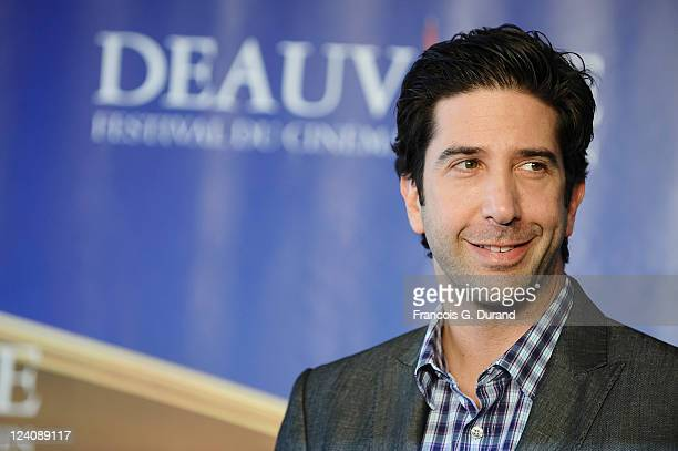 David Schwimmer attends the 'Trust' photocall during the 37th Deauville American Film Festival on September 8 2011 in Deauville France
