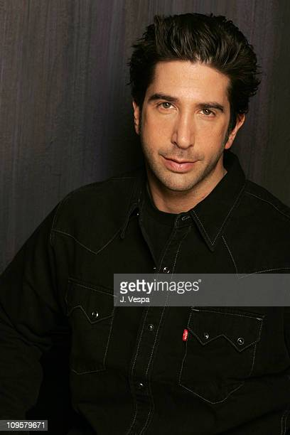 David Schwimmer during 2005 Sundance Film Festival Duane Hopwood Portraits at HP Portrait Studio in Park City Utah United States