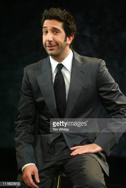 David Schwimmer during David Schwimmer Attends Some Girls Photocall at Gielgud Theatre in London United Kingdom