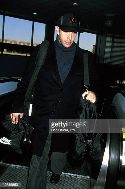 David Schwimmer during David Schwimmer Sighting at Los Angeles International Airport February 23 1996 at Los Angeles International Airport in Los...
