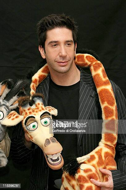 David Schwimmer during Madagascar London Photocall at Mandarin Oriental Hotel in London Great Britain