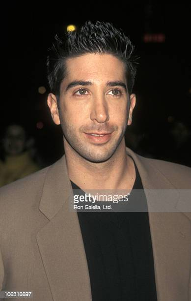 David Schwimmer during Screening of Kissing a Fool in New York City February 26 1998 at Cineplex Odeon Chelsea Theater in New York City New York...