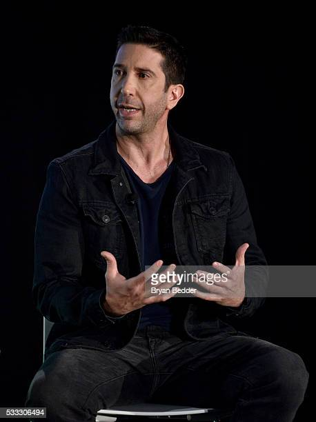 David Schwimmer speaks at 'David Schwimmer In Conversation' at the Vulture Festival at Milk Studios on May 21 2016 in New York City