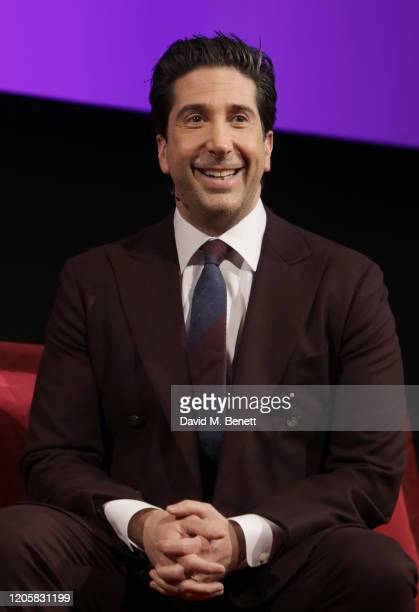David Schwimmer takes part in a QA at the Sky TV Up Next Event at Tate Modern on February 12 2020 in London England Up Next is Sky's inaugural...