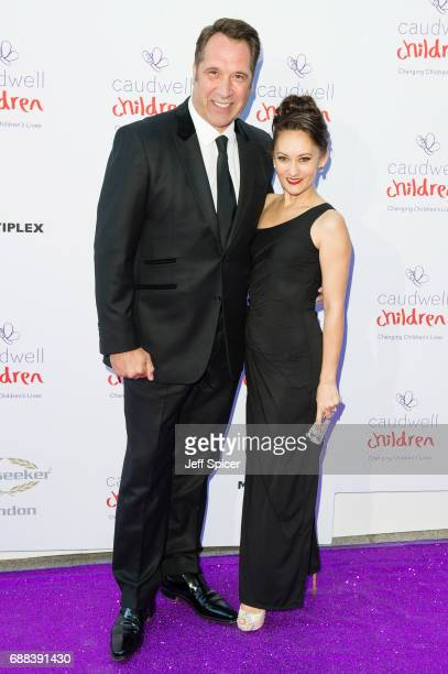 David Seaman and Frankie Poultney attend the Caudwell Children Butterfly Ball at Grosvenor House on May 25 2017 in London England