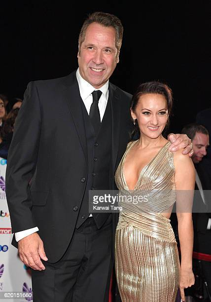David Seaman and Frankie Poultney attend the Pride Of Britain Awards at The Grosvenor House Hotel on October 31 2016 in London England